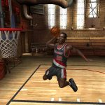 Clyde Drexler in the NBA Live PC Mode for NBA Live 06