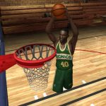 Shawn Kemp in the NBA Live PC Mode for NBA Live 06