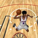 Julius Erving in the NBA Live PC Mode for NBA Live 06
