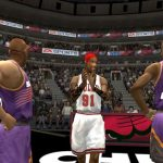 Dennis Rodman in the 1996 Season Patch for NBA Live 2004
