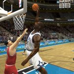 Shaquille O'Neal in the 1996 Season Patch for NBA Live 2004