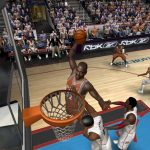 Shaquille O'Neal in the NBA Live PC Mode for NBA Live 06