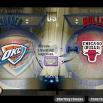 Team Select Screen in the NBA Live PC Mode for NBA Live 06