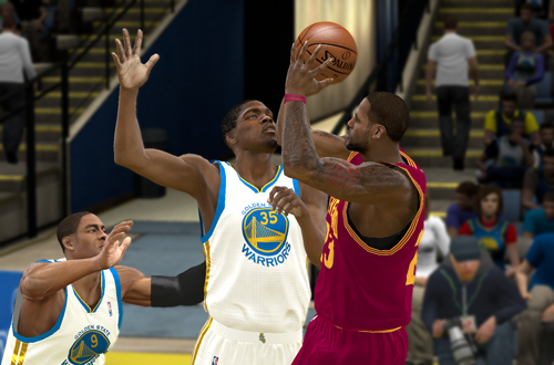 LeBron James vs. Kevin Durant in NBA 2K11 - 2017 Season Roster