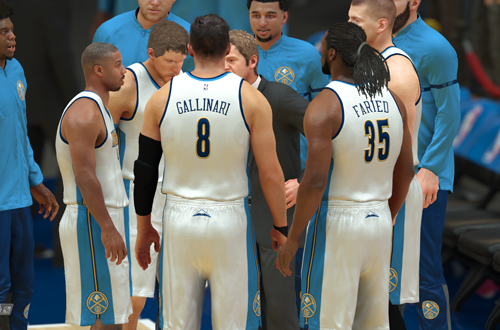 MyCAREER in NBA 2K17 with the Denver Nuggets