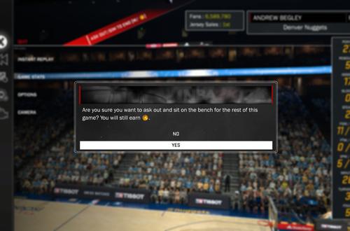 Sim to End Option in NBA 2K17's MyCAREER