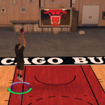 Playing basketball on MyCOURT in NBA 2K17