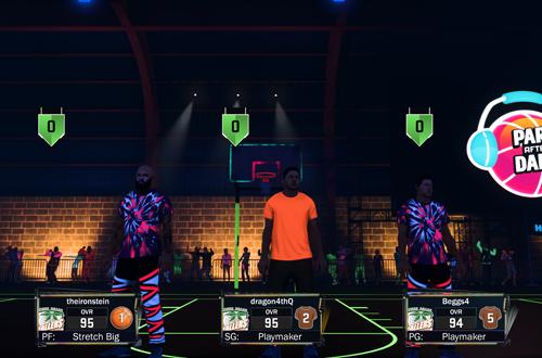 Park After Dark #3 in MyPARK in NBA 2K17