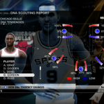 Dynamic DNA Tendencies for Ben Gordon in NBA Live 09