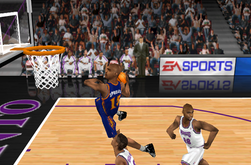 Latrell Sprewell in the default 1998 rosters of NBA Live 99