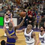The '91 Warriors vs. the '02 Kings in NBA 2K12
