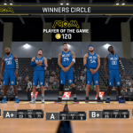 Post Game Stats in NBA 2K17's 2K Pro-Am
