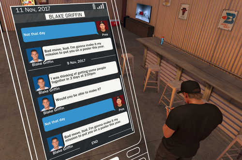 Blake Griffin Message in NBA 2K17's MyCAREER