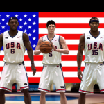 Team USA, one of the FIBA Teams in NBA Live 08