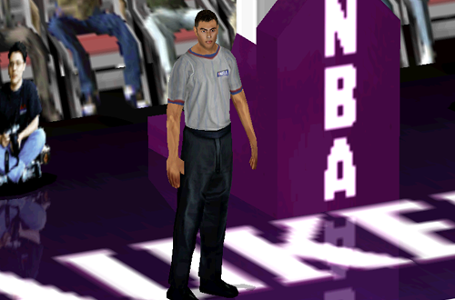 A Referee in NBA Live 2000