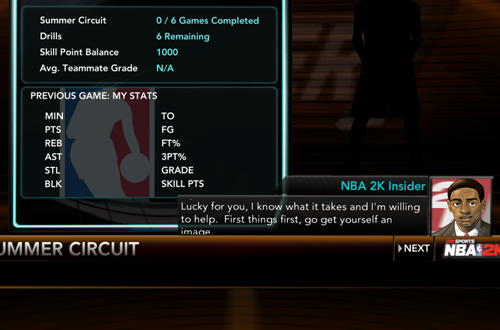 The 2K Insider in NBA 2K10