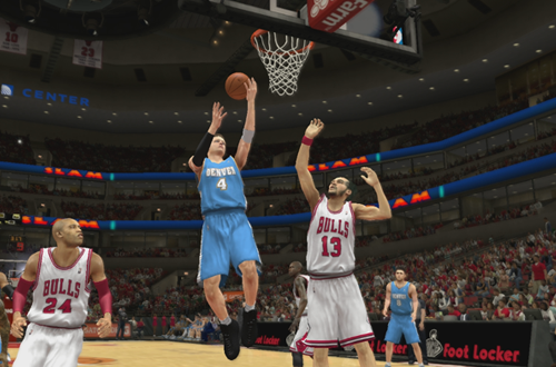 Taking on the Bulls in NBA 2K13's MyCAREER
