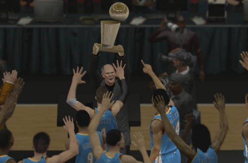 Winning the NBA Championship in NBA 2K13's MyCAREER