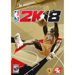 Shaquille O'Neal on the NBA 2K17 Legend Edition Gold Cover