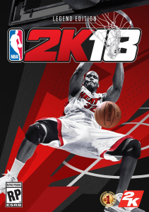 Shaquille O'Neal on the NBA 2K18 Legend Edition Cover