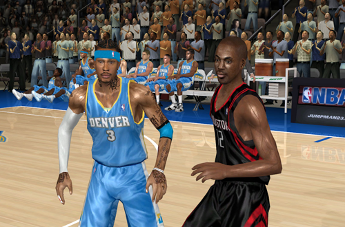 Lighting Preview for the Supreme Update Mod for NBA Live 07
