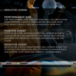 Be a Pro Indicator Legend in NBA Live 09