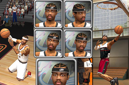 Allen Iverson Complete Update, one of Finnboy's Mods for NBA Live 2003