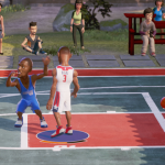 Ending a game of NBA Playgrounds