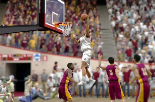College Hoops 2K8, the last of 2K's College Basketball Games