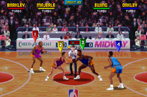 Arcade Version of NBA Jam