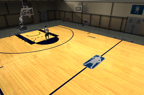 One of Andrew's Court Mods for NBA Live 08