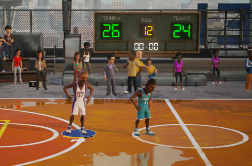 Post-Game in NBA Playgrounds