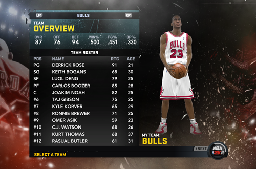 MJ: Creating a Legend in NBA 2K11