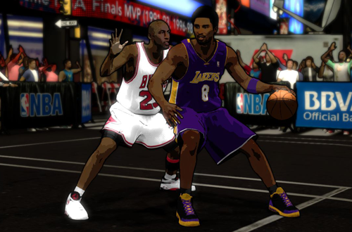 Legends Showcase DLC for NBA 2K12