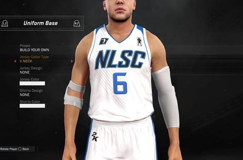 Jersey Customisation in NBA 2K17's 2K Pro-Am
