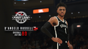 NBA 2K18: D'Angelo Russell