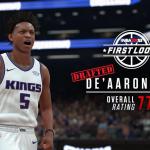 NBA 2K18: De'Aaron Fox