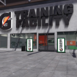 NBA 2K18: Gatorade Training Facility