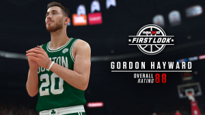 NBA 2K18: Gordon Hayward