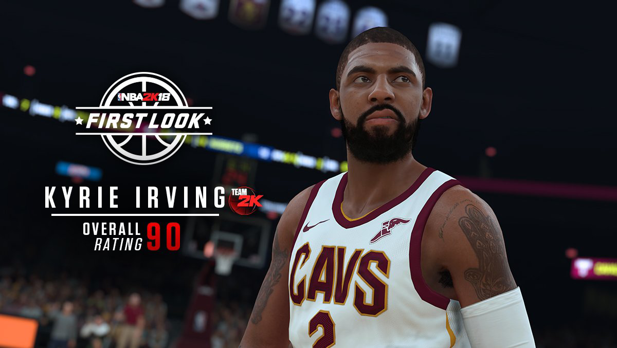 NBA 2K18 Prelude Coming September 8th; Kyrie Irving ...