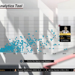Analytics Tool in NBA 2K18's MyLEAGUE
