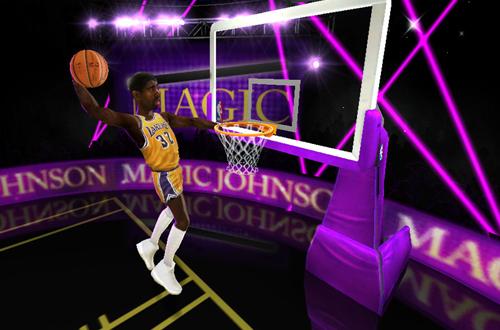 NBA Jam, a game with true cartoonish aesthetics