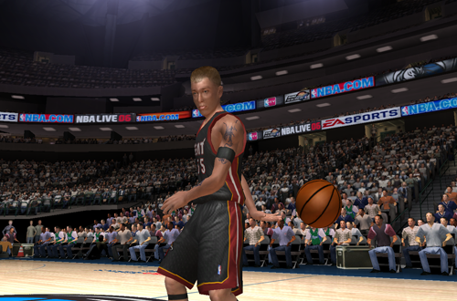 Jason Williams with the Freestyle Superstars pass in NBA Live 06