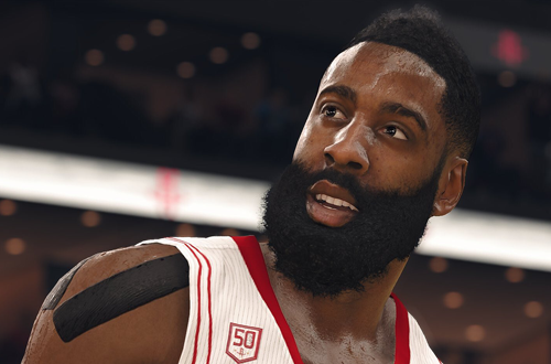 James Harden in NBA Live 18