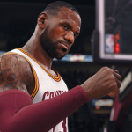 LeBron James in NBA Live 18