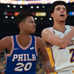 NBA 2K18: Markelle Fultz vs. Lonzo Ball