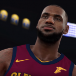 LeBron James in the Get Shook NBA 2K18 Trailer
