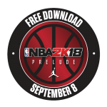 NBA 2K18 The Prelude Logo