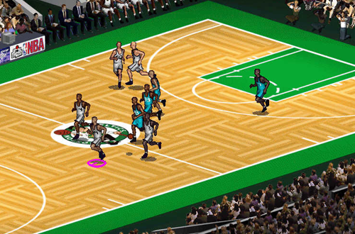 NBA Full Court Press, a basketball game by Microsoft