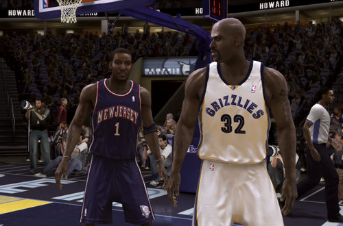 NBA Live 08 Quick Pick Play featuring the Nets & Grizzlies